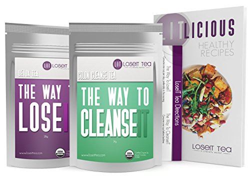 Weight Loss Tea - Doctor Formulated – Cleanse Detox Tea to Help...