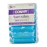 Conair Foam Hair Roller-Small, Blue, 14 Ct - 1 Pkg
