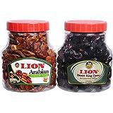 Lion Arabian Dates 1 Kg + Lion Desert King Dates 1 Kg