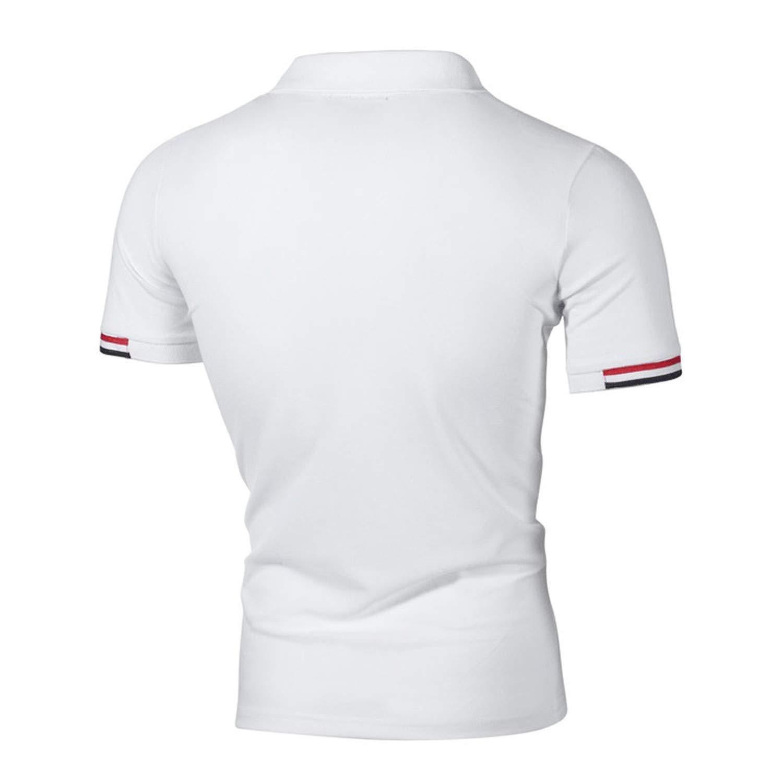 EspTmall Clothing New Men Polo Shirt Men Casual Slim Fit Male Polo Shirt Long Sleeve Breathable Polo Shirt Man New Tops Tees Gray L United States