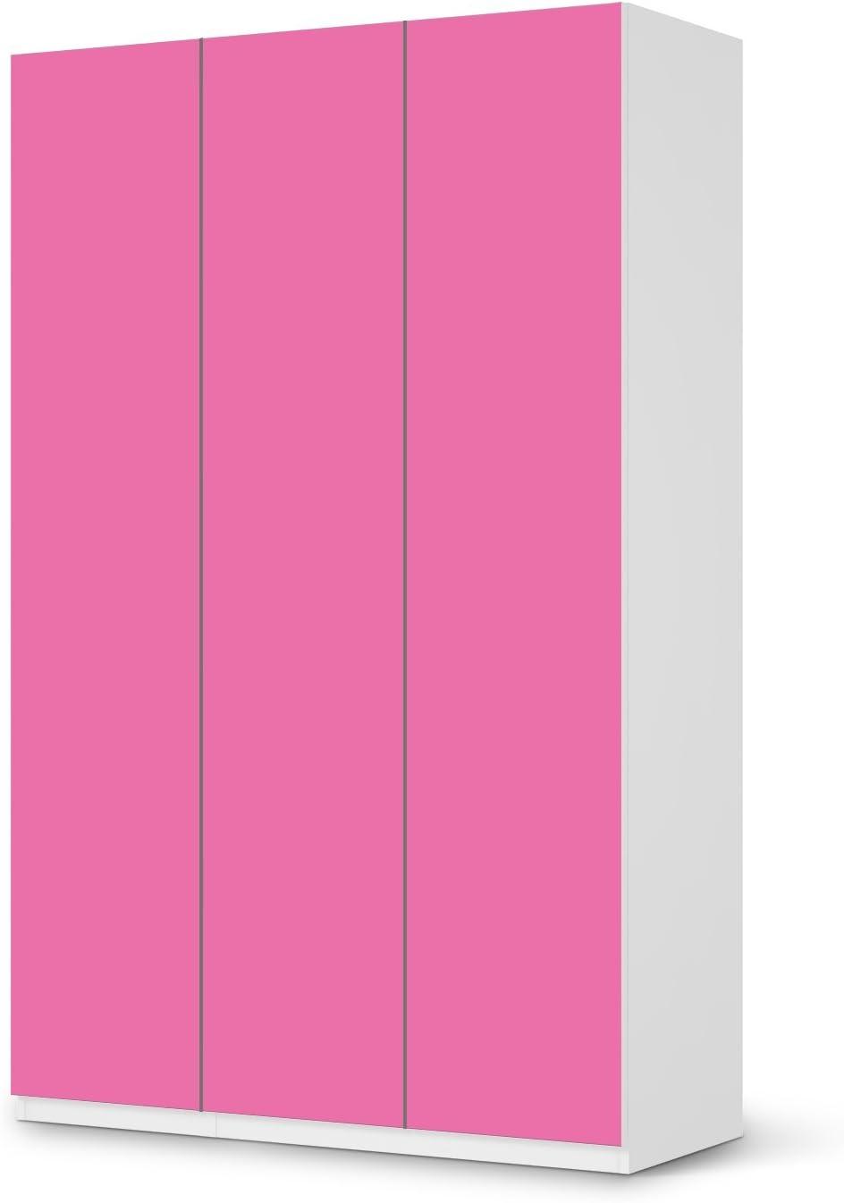 Diseño Pantalla IKEA Pax Armario 236 cm altura – 1, 2, 3, 4 puertas y puerta corredera autoadhesivo diseño diferentes colores Deko pantalla reverso adhesivo Armario Dormitorio: Amazon.es: Hogar