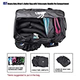 IST Heavy Duty Dive Roller Bag with Duffel Straps