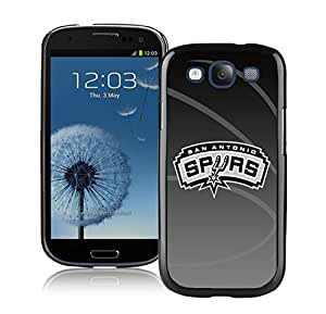 New Custom Design Cover Case For Samsung Galaxy S3 I9300 San Antonio Spurs 11 Black Phone Case