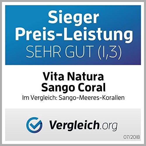 Vita Natura, Calcio de Sango Coral en Polvo, Pack de 1 (1 x 250 g): Amazon.es: Alimentación y bebidas