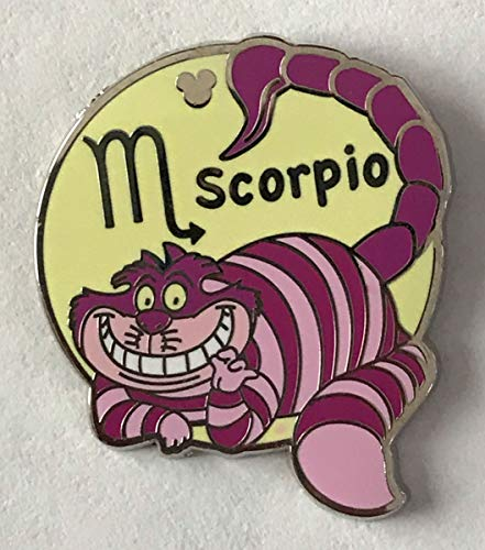 Disney Pin 88692 DLR/WDW - 2012 Hidden Mickey Series - Zodiac Collection - Scorpio Cheshire Cat Pin Alice in Wonderland