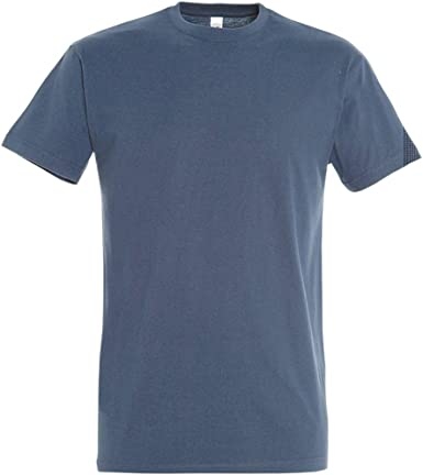 Sols Men/'s T-Shirt Cotton 3XL 4XL 5XL Shirts plus Size