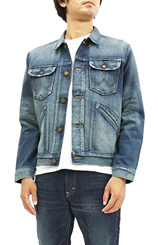 Wrangler 124MJ Denim Jacket WM1724-336 Men's outerwear (X-Large)