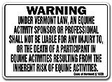 Signmission Horse Tacks