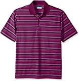 PGA TOUR Men's Short Sleeve Airflux Stripe Polo