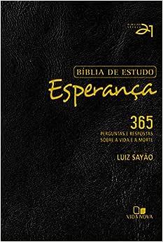 Bíblia de estudo Esperança - Preta - 2ª. Ed. revisada e atualizada