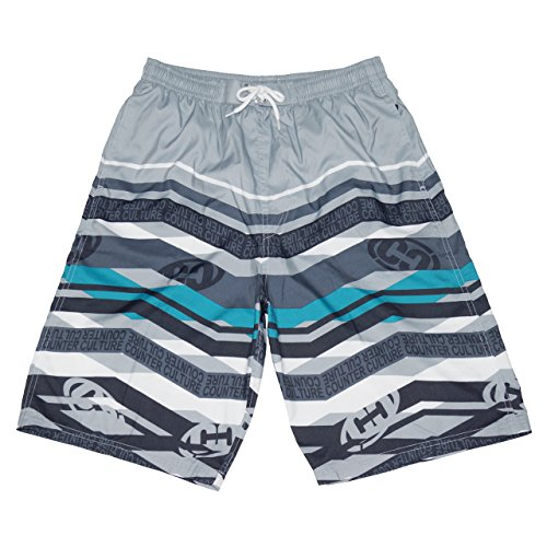 CROSSROAD Men's swimming trunks 0239-339(LL, Gray) by CROSSROAD
