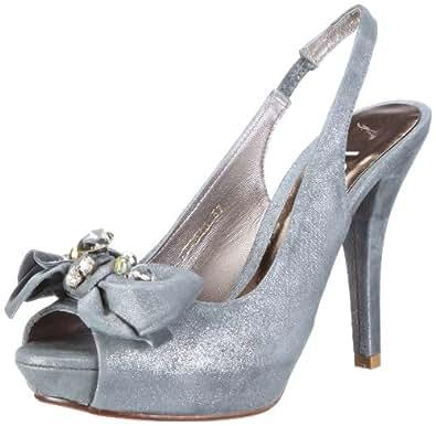Lodi Novias 15587 15587 - Zapatos de novia para mujer, Plateado (Silber (point acero)), 41
