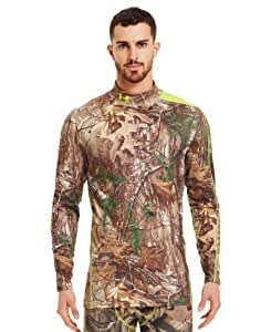 Under Armour Mens ColdGear Evo Scent Control Mock Large REALTREE AP-XTRA