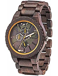 WeWood Kos Indian Rosewood Watch | Chocolate/Camo
