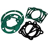uxcell 10 in 1 Industrial Air Compressor Cylinder Base Head Gaskets