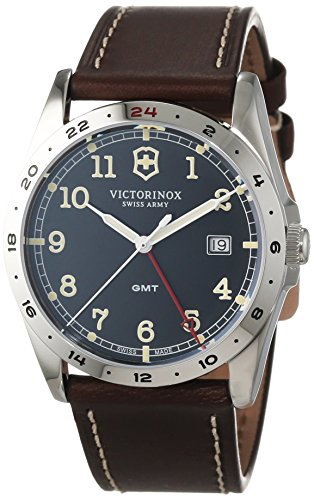 Victorinox Infantry GMT 241648 Mens Wristwatch Excellent readability