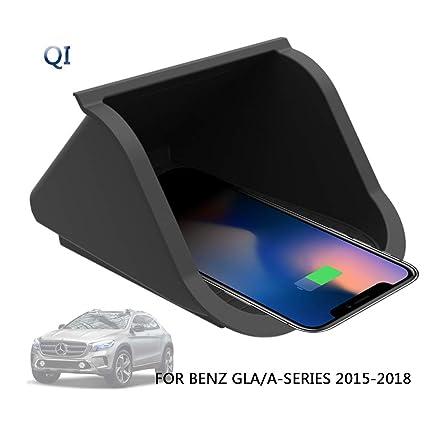 10W Qi Cargador Inalámbrico Coche,Wireless Carga Rápida Caso ...