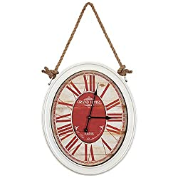 Yosemite Home Decor CLKM1442501 Circular Wall Clock Multi