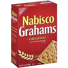 Nabisco Grahams Crackers, Original, 14.4 Ounce Box (Pack of 12)
