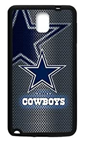 Hoomin Dallas Cowboys Mental Like Grey Samsung Galaxy Note3 Cell Phone Cases Cover Popular Gifts(Laster Technology)
