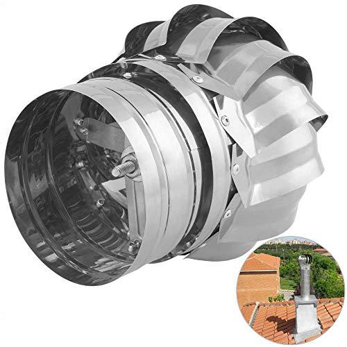 PrimeMatik - Sombrero Extractor de Humos galvanizado Giratorio para Tubo de 100 mm de diámetro: Amazon.es: Electrónica