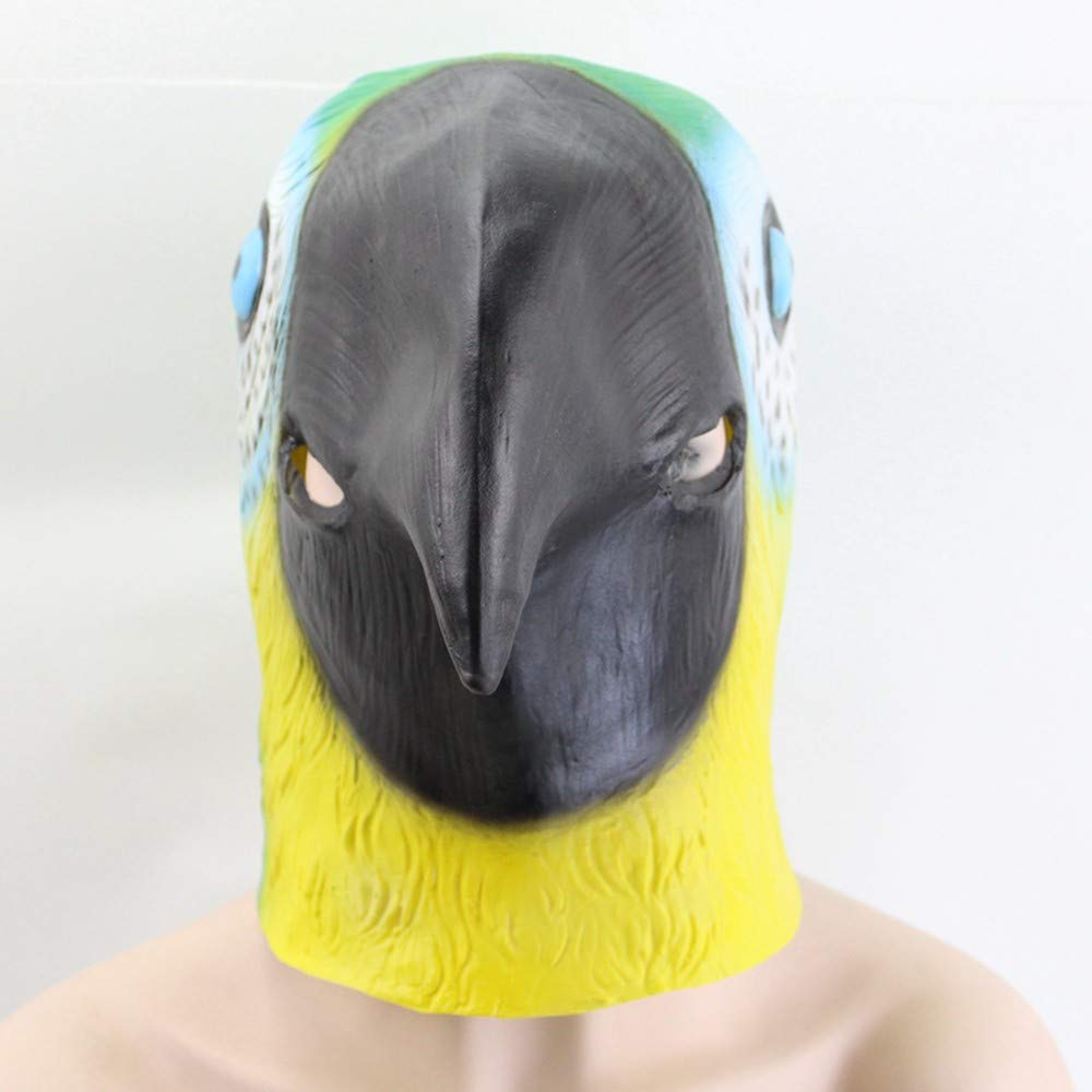 Lianaic Maske Latex Full Face Tier Maske Latex Party Maske Kinder Party Halloween Spoof Maske