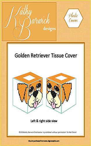 Golden Retriever Tissue Cover