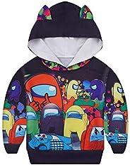 JCHEGN Boys Cartoon Hoodies Kids Novelty Game Pullover