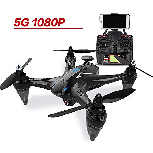 RC Quadcopter Drone With GW198 5G Wifi FPV Automatic Return GPS Brushless...