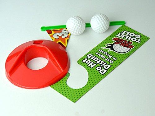 Toilet Golf Moonmini Potty Putter Set Bathroom Game Mini