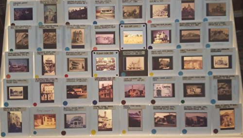 Vintage 35mm Slide (40 Vintage EUROPE HOUSES & VILLAS Architecture 35mm Picture Slides)