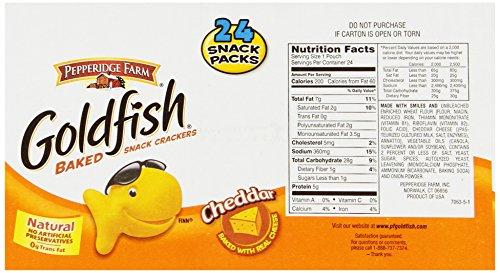 Pepperidge Farm Goldfish Cheddar 1 5 Ounce Bags Pack Of 24