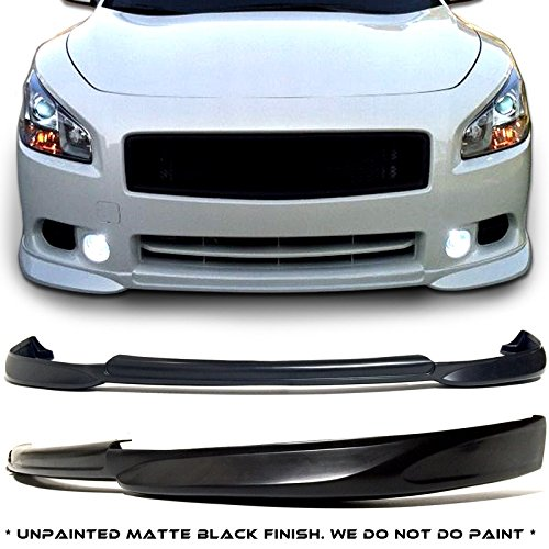 Nissan Maxima 4dr Sedan STL Style Urethane Front Bumper Lip Chin Spoiler For 09-15 Models ONLY. by MagicDrift