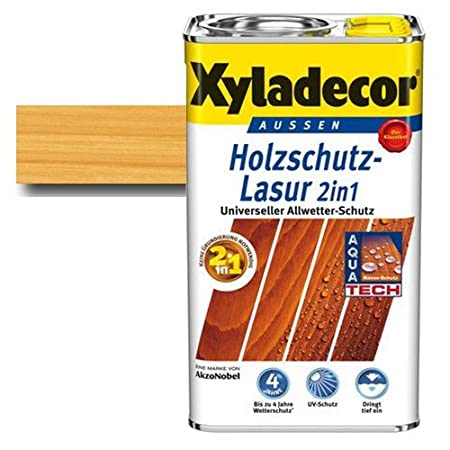 Xyladecor Farben.Xyladecor Wood Protection Stain 2 In 1 Pine 5 Colour Fast