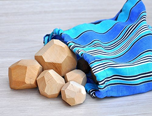 Tumi Ishi 8 Wood balancing stones for kids Wood balancing toys Wooden balancing game Educational toys for toddler Wooden balancing blocks Wood balancing game Educational toys for 3 years old by DKUA