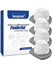 KEEPOW 2033 Vacuum Filter Compatible with Bissell Featherweight Stick Lightweight Bagless Vacuum 2033, 20331, 20333, 20336, 20339, 2033M (4-Pack)