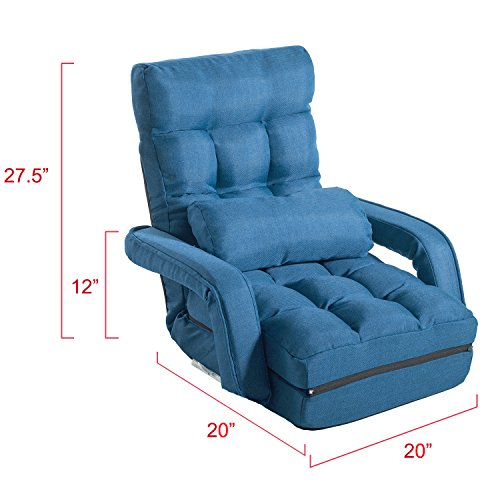All About Merax Relaxing Foldable Lazy Sofa Chair Pillow Stylish