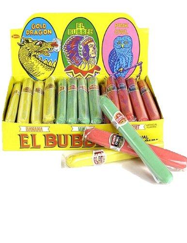 El Bubble Bubble Gum Cigars 36 Count Box]()
