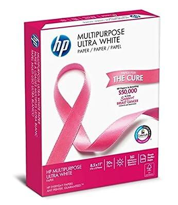 "HP Paper, Ultra Multipurpose BCA, 20Lb, 8.5""x11"", Letter, 96 Bright"