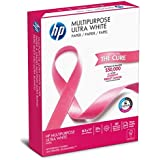 HP Printer Paper, Multipurpose20, 8.5 x 11, Letter, 20lb, 96 Bright, 500 Sheets / 1 Ream (112000PR) Made In The USA