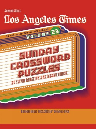 Download Los Angeles Times Sunday Crossword Puzzles PDF