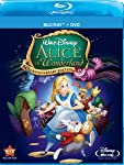 Cover Image for 'Alice In Wonderland (60th Anniversary Edition) (Two-Disc Blu-ray/DVD Combo)'