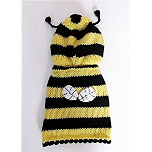 XXS Dog Sweater Bee Dog Costume XX Small dog Clothes Teacup Chihuahua Yorkie Puppy Clothing Hoodie