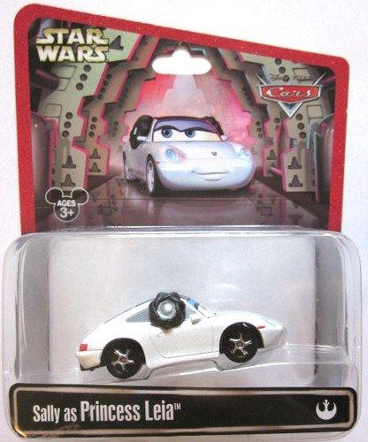 Disney Cars Star Wars Sally As Princess Leia Disney Mattel 1:55 Scale Limited (Luigi Guido Tractor)