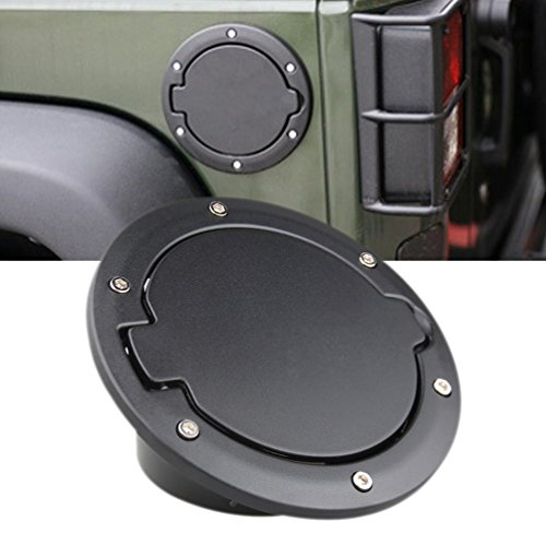 er Gas Tank Cap for 2007-2017 Jeep Wrangler JK & Unlimited 4-Door 2-Door ()