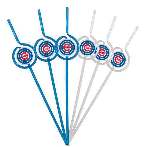 mlb-chicago-cubs-six-pack-team-sip-sport-straws