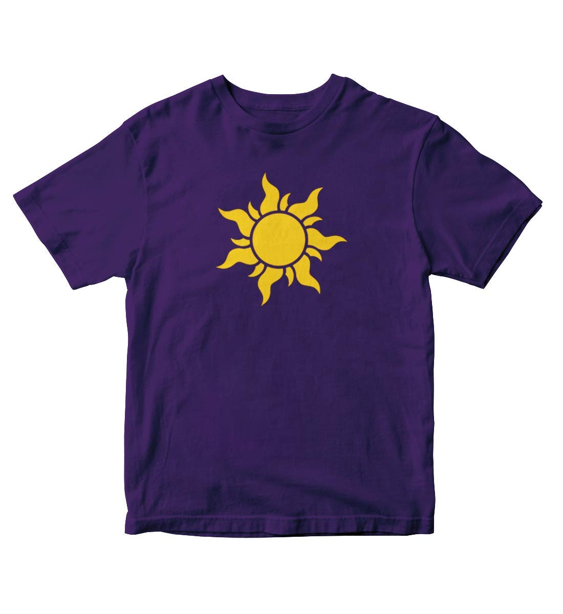 Tangled Kingdom Sun Purple Shirt S M109
