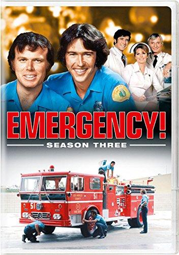 Emergency! Season Three (Emergency Dvd)