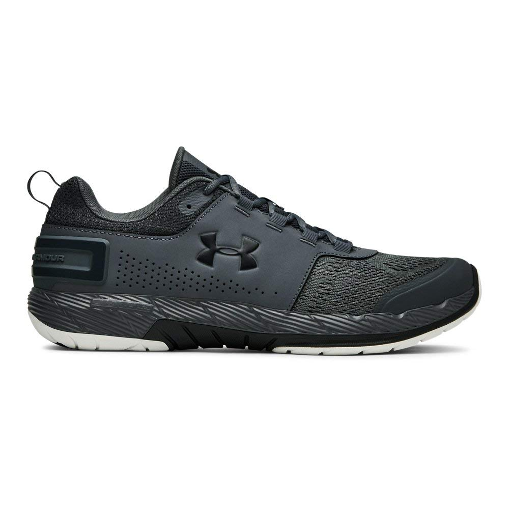 Under Armour Men's Commit TR EX Sneaker, Pitch Gray (107)/Black, 7 M US by Under Armour (Image #1)
