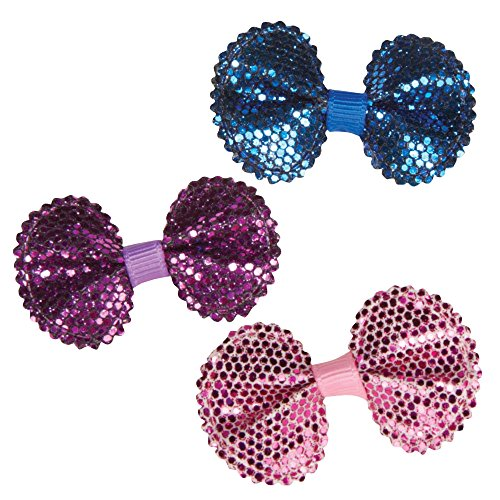 Aria Sequin Bows for Dogs, 100-Piece Canisters by Aria (Image #1)